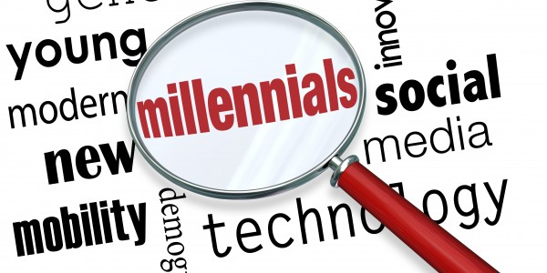 Magnifying glass - Millennials, Social Media, Mobility, Modern - Tips for Managing a Millennial Workforce